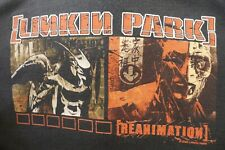 2002 Linkin Park Reanimation Band T-Shirt Medium Vintage