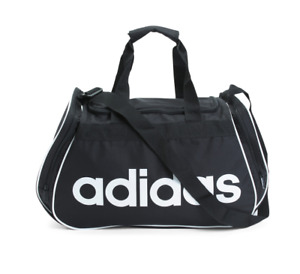 adidas Core Diablo Medium Duffle Bag, Black/White