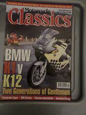 MOTORCYCLE CLASSICS MARCH 1998 BMW TRIUMPH GARAGE SHED BARN FIND MOTOR BIKE