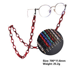 Acrylic Chain Eyeglasses Chains Glasses Rope Sunglasses Strap Neck Cord