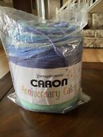 Caron Anniversary Cakes BLUEBERRY BIRTHDAY Yarn 35.3 oz 1061 yards NEW