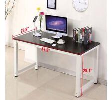 Computer Student Desk Table Workstation Home Office Dorm Drawer Study Black