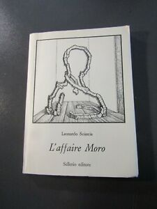 LEONARDO SCIASCIA- L'AFFAIRE MORO-1978-ÉDITION ORIGINALE-TEXTE en ITALIEN