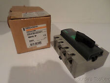 New Merlin Gerin Interpact 3-Pole Switch Disconnector, 125A, INS125-3P, 28910