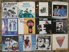 LOT of 12 PAUL McCARTNEY 45rpm Picture Sleeves (ONLY!) BEATLES