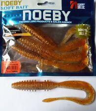 Noeby pêche leurre souple odorant worm twist 14cm non étiré 13g couleur 208