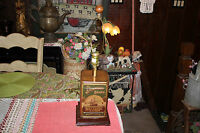 Vintage Steamship Brand Molasses Candy Tin Converted Nautical Table Lamp