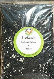 PROREZULT 210g Activated Carbon Cand Zeolite Filter Media Mix for Aquarium an...
