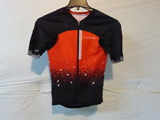 Louis Garneau Tri Course M-2 Trialon Jersey Men's Xs Black/Flame Ret $175