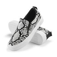 Women Fashion Sneakers Comfort Walking Sports Casual Shoes Classic Slip on Flats