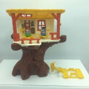 Vintage Hasbro Weebles Tree House 1974