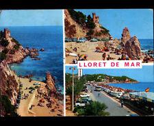 LLORET DE MAR (ESPAGNE) VOLKSWAGEN Combi au BAR MARINA en 1974
