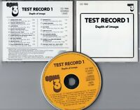 V.A CD TEST RECORD 1 Depth Of Image 1984 Opus West Germany CD 7900 demo testical