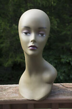 "Mannequin Head, Female, African-American, 16"", Used"