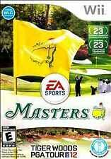 Nintendo Wii : Tiger Woods PGA TOUR 12: The Masters VideoGames