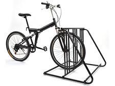Bicycle Parking Storage Rack 1-6 Bikes Steel Park Stand Black Finish New 2/3/4/5