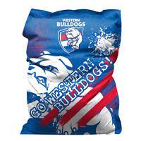 Western Bulldogs Bean Bag GIANT BIG AFL Aussie Rules Christmas Gift SALE