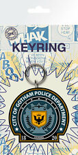Gummi Schlüsselanhänger BATMAN - Gotham Police  DC Comics Rubber Keyring NEU 308