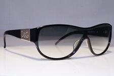 DOLCE & GABBANA Mens Womens Vintage Sunglasses Black Shield D&G 3005 5018G 21488
