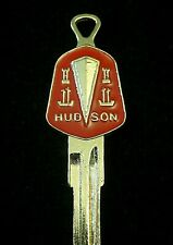 HUDSON 2-Sided Gold CREST KEY BLANK fits all 1925-1957 Hornet Wasp
