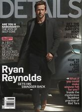 Details August 2013 Ryan Reynolds Mark Seliger Michael B Jordan 052418DBF