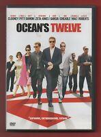 DVD - OCEAN'S Twelve con Georges Clooney,Brad Pitt, Matt Damon