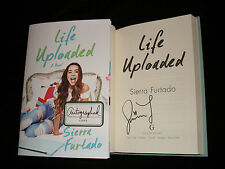 Sierra Furtado signed Life Uploaded 1st printing hardcover book
