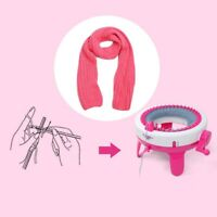 Mini  Knitting Machine Scarf Kids Toy Children Weaver Loom Knitter Smart Gift
