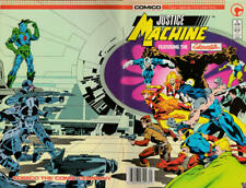 Justice Machine Featuring the Elementals #1 (Newsstand) VF; COMICO | save on shi