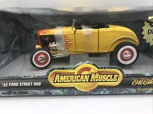 1/18 Ertl 1932 Yellow Ford Street Rod JM Part # 7945