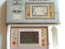 Vintage Nintendo Game & Watch Snoopy Tennis Wide Screen Japan Boxed/ Tested-L-