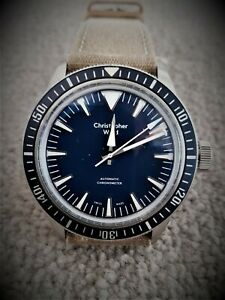 Christopher Ward C65 Dartmouth Chronometer in excellent condition.