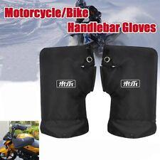 Étanche thermique moto vélo guidon poignets manchons gants mitaines chauffe main