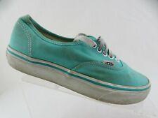 VANS Green Sz 8.5 WOmen Low Skateboarding Shoes