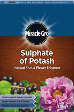 Miracle Gro Sulphate Of Potash Plant Food 1.5kg