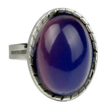 Adjustable Awesome Vintage Oval Mood Ring Finger Ring Color Change Jewelry