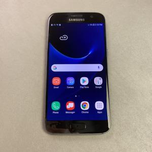 Samsung Galaxy S7 - 32GB - Black (Unlocked) (Read Description) DH1092