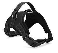 No Pull Dog Pet Harness Adjustable Control Vest Dog Reflective Xs S M Xxl Black