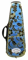 Lanikai Baritone Ukulele Case FLORAL Design Adjustable NEW! UKE LIGHTWEIGHT CASE