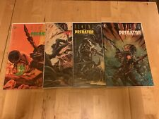 Aliens vs Predator #1 2 3 4 Dark Horse Mini Series Comic Book Set 1-4 HORROR