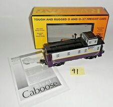 MINT MTH RAIL KING O / 027 MTHRRC 2002 OFFSET 30-7779 STEEL CABOOSE 91