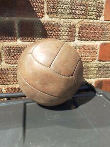 Vintage Leather  Football loft find told 1960s blader inner BRILL