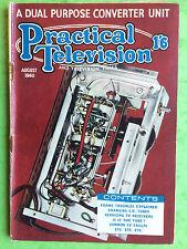PRACTICAL TELEVISION - August 1960 - A Dual Purpose Converter Unit - Electronics