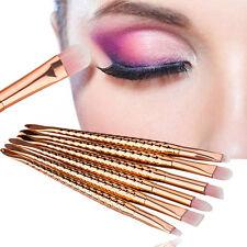 10tlg. Mermaid Kabuki Foundation Eyeshadow Makeup Kosmetik Pinsel Pulver Pinsel