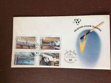 b1u ephemera stamped franked envelope 1985 transkei match industry
