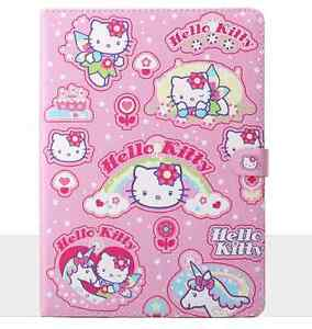 """Hello Kitty Smart Leather Case Cover for Air 2/Air1/9.7"""" iPad& Mini 5/4/3/2/1"""