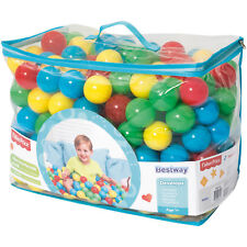 """New Fisher-Price 500 2.5"""" Play Balls 500pc 4 Assorted Color Ball Pit Smooth Seam"""
