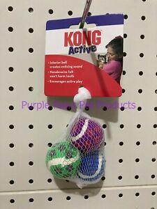 ~KONG / ACTIVE / CAT TOY / BALLS WITH BELLS~