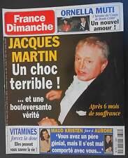 ►FRANCE DIMANCHE 2716 JACQUES MARTIN - GILBERT MONTAGNE - ROCH VOISINE - SASTRE