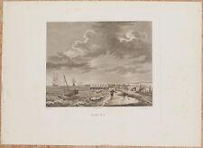 MARINA PAESAGGIO MARINO LAMBERTINI TIBALDI DUBBELS 1839 TEMPESTA VELIERI STORM